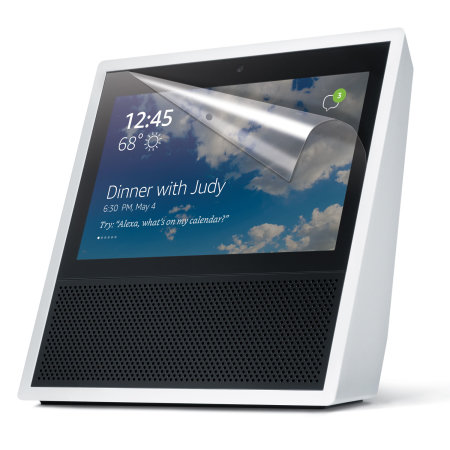 Olixar Amazon Echo Show Screen Protector 2-in-1 Pack
