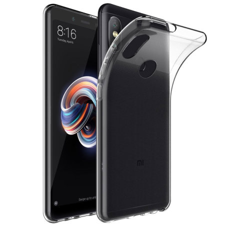 huge discount 25123 c7653 Xiaomi Redmi Note 5 Pro Gel Case - 100% Clear