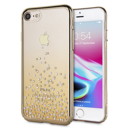 unique polka 360 case iphone 7 case - champagne gold / clear reviews