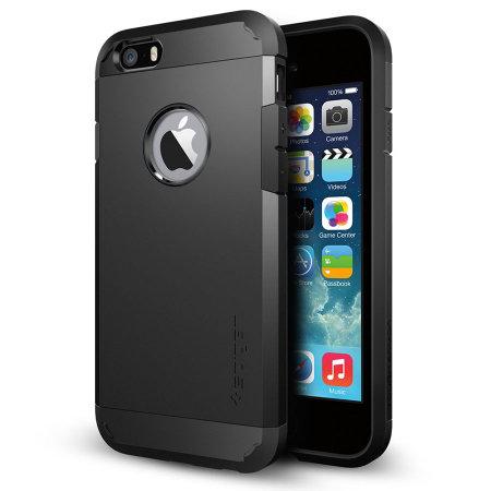 Spigen Tough Armor iPhone 6 Skal - Svart Recensioner 535a7fec00f0b