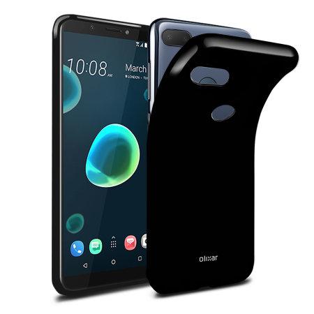 Olixar FlexiShield HTC Desire 12 Plus Gel Case - Zwart