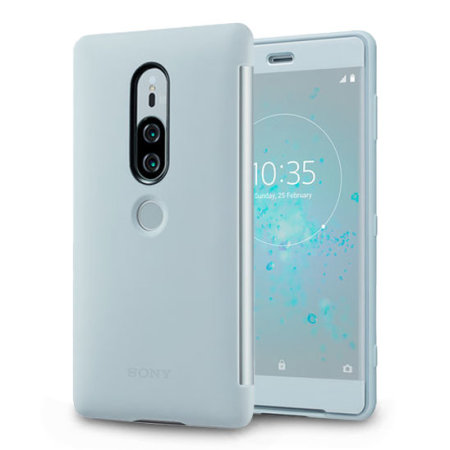 buy online daf59 df359 Official Sony Xperia XZ2 Premium SCTH30 Style Cover Touch Case - Grey