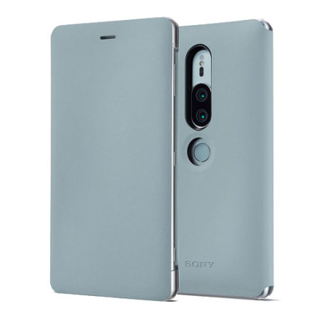 newest 19ae6 0e564 Official Sony Xperia XZ2 Premium SCSH30 Style Cover Stand Case - Grey