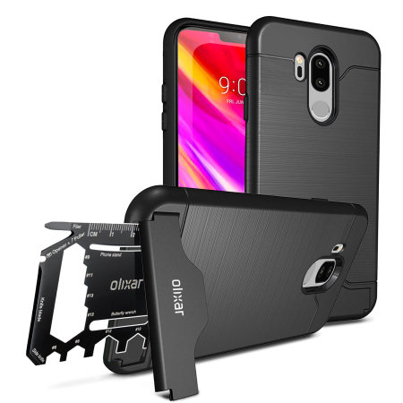 Olixar X-Ranger LG G7 Survival Case -Tactical Black