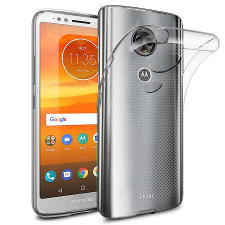 Olixar Ultra-Thin Motorola Moto E5 Plus Deksel - 100% Klar