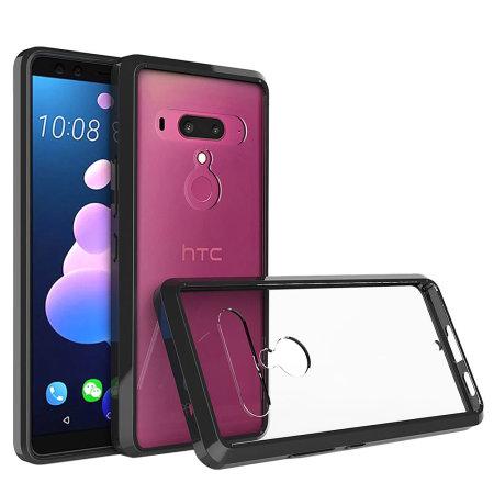 Olixar ExoShield Tough Snap-on HTC U12 Plus Case - Black