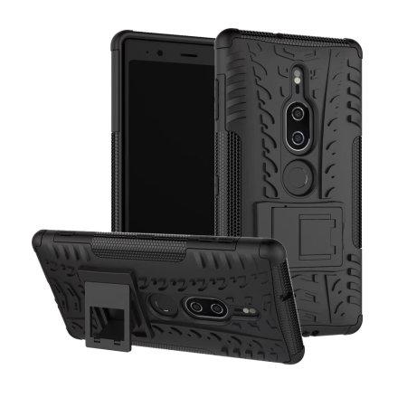 Olixar ArmourDillo Sony Xperia XZ2 Premium Protective Case - Black