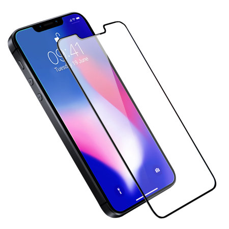 Olixar iPhone SE 2018 Full Cover Glass Screen Protector - Black