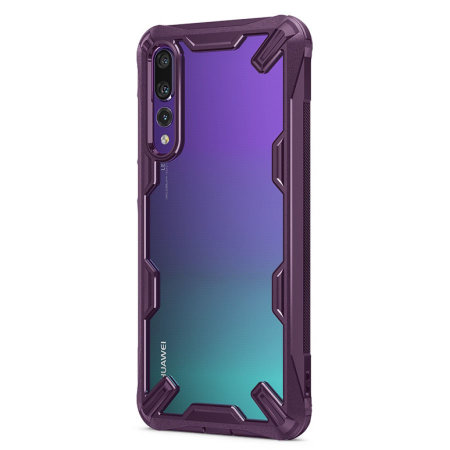 Ringke Fusion X Huawei P20 Pro Tough Case - Lilac Purple