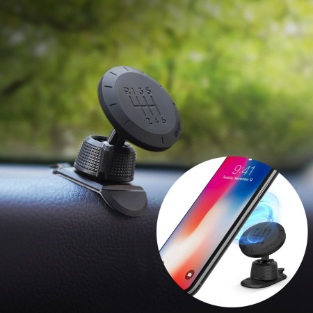 Ringke Gear Flexi Compact 360° Magnetic Car Mount Holder - Black