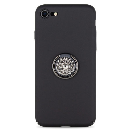 LoveCases Diamond Ring iPhone 8 / 7 Case - Black