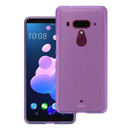 Olixar FlexiShield HTC U12 Plus Gel Case - Lilac Purple