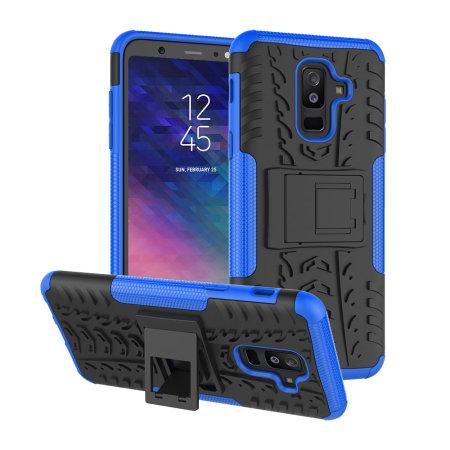 low priced 64c38 d1ab0 Olixar ArmourDillo Samsung Galaxy A6 Plus 2018 Protective Case - Blue