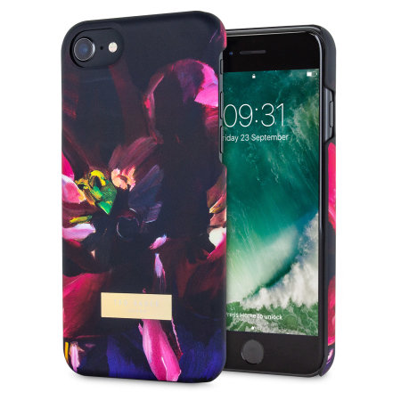 ted baker loliva iphone 7 soft feel shell case - impressionist bloom