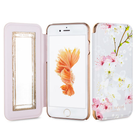 ted baker brook iphone 6 mirror folio case - oriental blossom