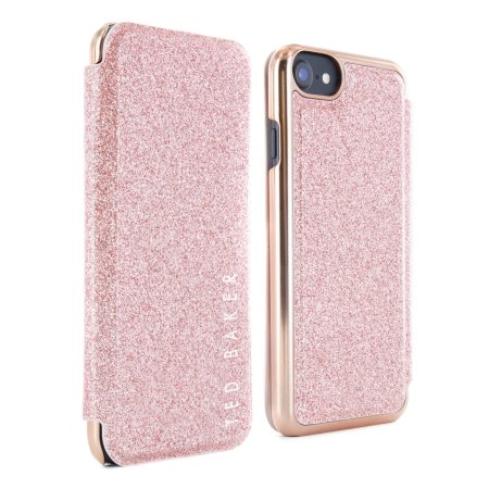 san francisco 8e3c2 b3a8c Ted Baker Glitsie iPhone 6S Mirror Folio Case - Rose Gold