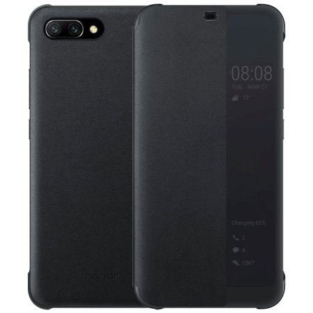 Official Huawei Honor 10 Smart View Flip Case - Black