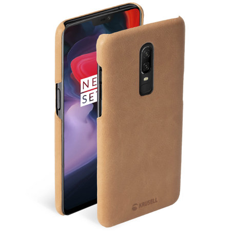 new concept 95757 45399 Krusell Sunne OnePlus 6 Leather Case - Nude