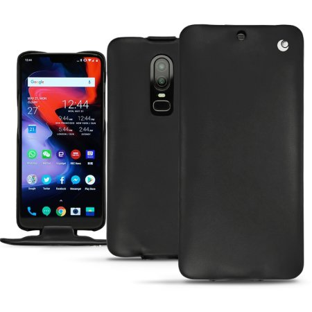 on sale fc2d8 a4de3 Noreve Tradition OnePlus 6 Premium Genuine Leather Flip Case