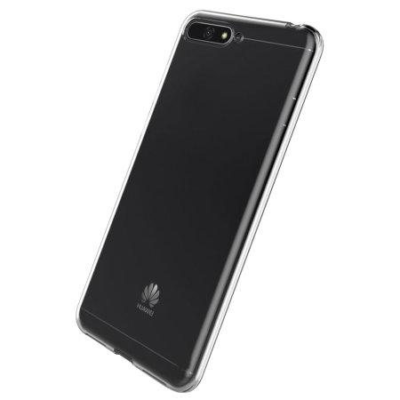 Coque Huawei Honor Y6 2018 Olixar Ultra-mince – 100% Transparente