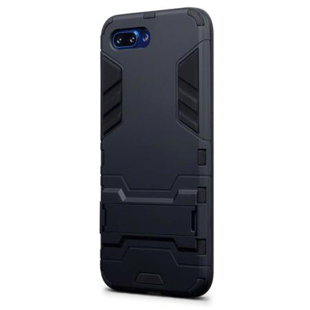 Encase Huawei Honor 10 Dual Layer Armour Case & Stand - Black