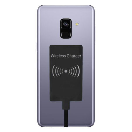 reputable site 92c18 45e23 Samsung Galaxy A8 2018 Ultra Thin Qi Wireless Charging Adapter