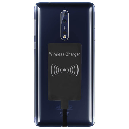 Nokia 8 Ultra Thin Qi Wireless Charging Adapter
