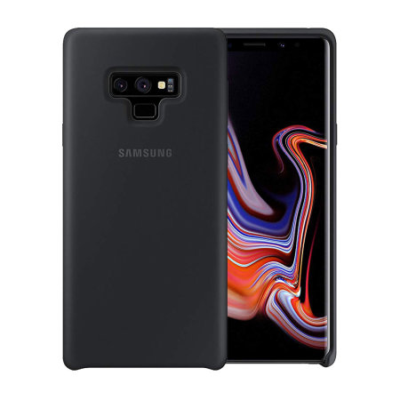 new arrival 08a3f b6bd3 Official Samsung Galaxy Note 9 Silicone Cover Case - Black