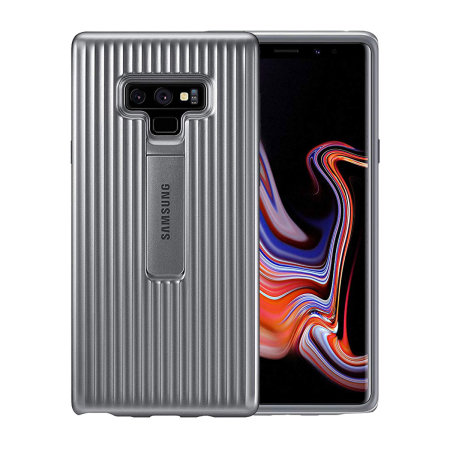 low priced e4207 beb9a Official Samsung Galaxy Note 9 Protective Stand Cover Case - Grey