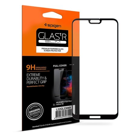 Spigen GLAS.tR Slim Huawei P20 Lite Tempered Glass Screen Protector