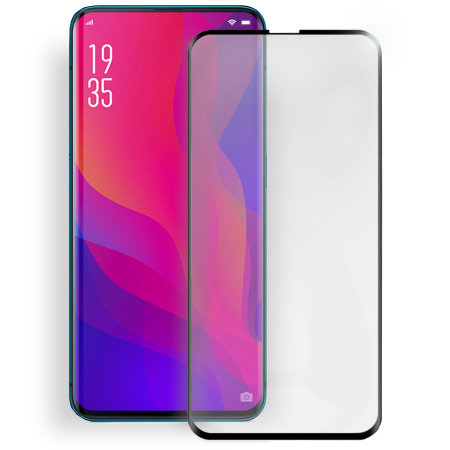 best website 32b20 34f12 Olixar Oppo Find X Full Cover Tempered Glass Screen Protector