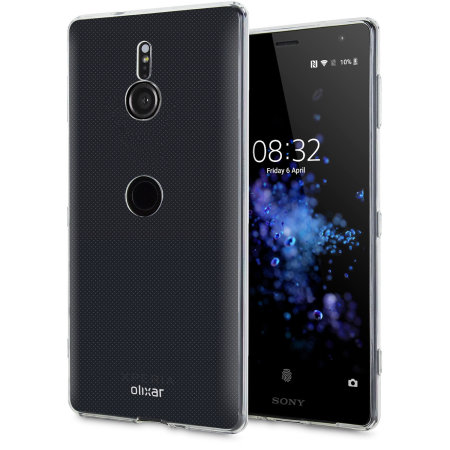 Funda Sony Xperia XZ3 Olixar Ultra-Thin Gel - Transparente