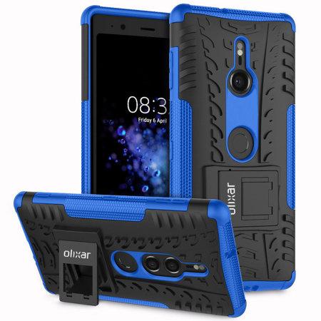 Olixar ArmourDillo Sony Xperia XZ3 Protective Case - Blue