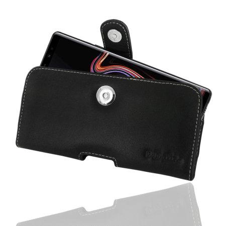Housse Samsung Galaxy Note 9 PDair horizontale en cuir & clip ceinture