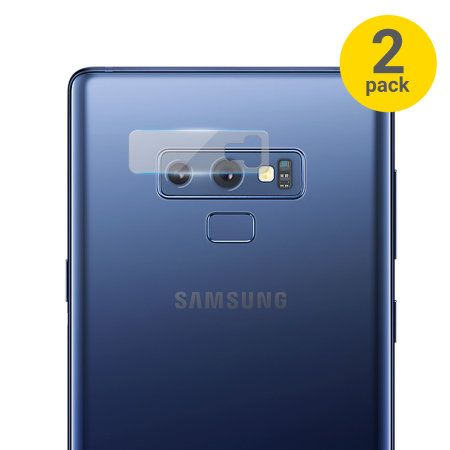 Olixar Samsung Galaxy Note 9 Glass Camera Protector - Twin Pack