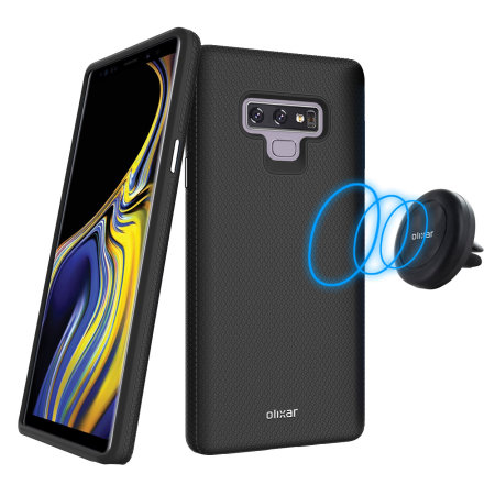 Samsung Galaxy Note 9 Magnetic Case and Car Holder Olixar Magnus