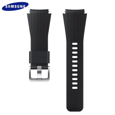 Official Samsung Galaxy Watch 22mm Silicone Strap - Black