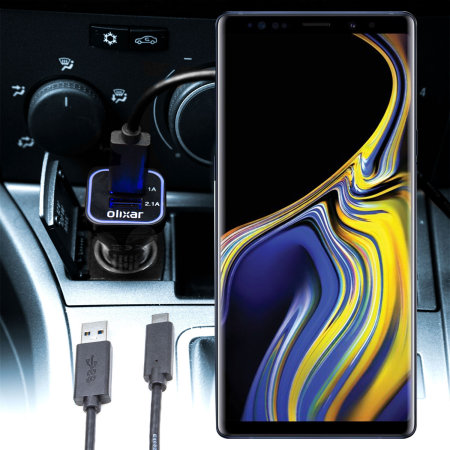 Olixar High Power Samsung Galaxy Note 9 Autolader