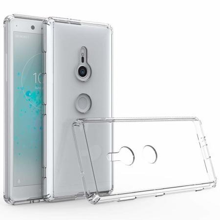 Olixar ExoShield Tough Snap-on Sony Xperia XZ3 Case - Crystal Clear