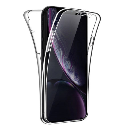 iphone xr 360 clear case