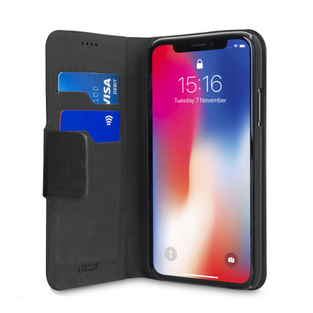 olixar leather-style iphone xr wallet stand case - black reviews