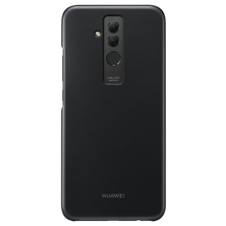 rivenditore all'ingrosso 9512c 36aab Official Huawei Mate 20 Lite Protective Case - Black