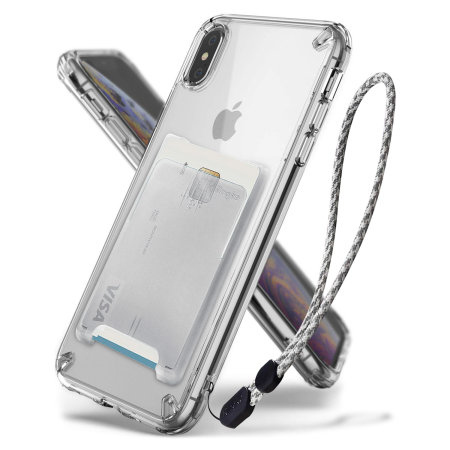 buy online 8650f eb4c5 Ringke Fusion 3-in-1 iPhone XS Max Kit Case - Clear