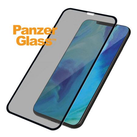 differently 40846 2bd69 PanzerGlass iPhone XS Max Case Friendly Privacy Glass Screen Protector