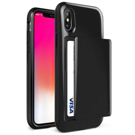 buy online 20048 ddad4 VRS Design Damda Glide iPhone XS Case - Metallic Black
