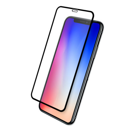 Eiger 3D Glass iPhone XS Max Tempered Glass Screen Protector - Black