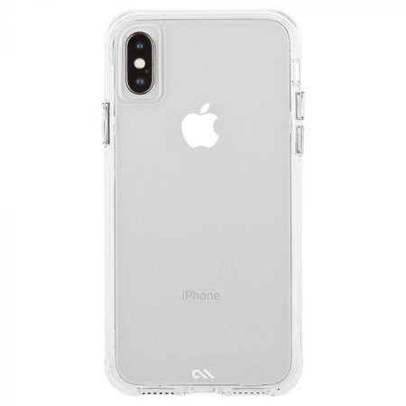 case-mate iphone xs / x tough case - clear