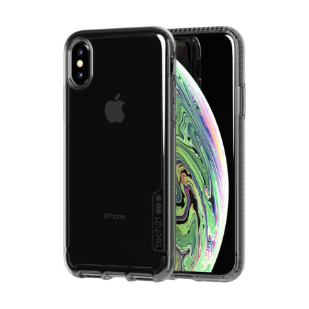 huge selection of 07a0c d3706 Tech21 Pure Tint iPhone XS Case - Carbon