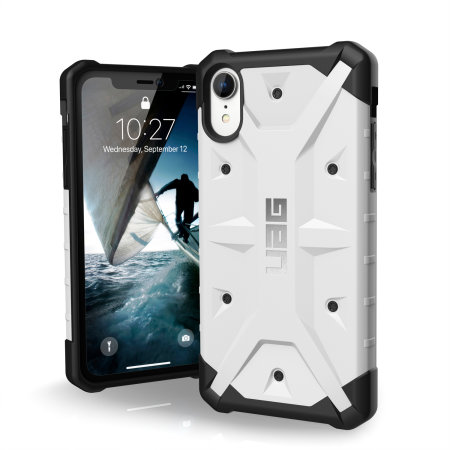 best service fa64a 5ebba UAG Pathfinder iPhone XR Rugged Case - White
