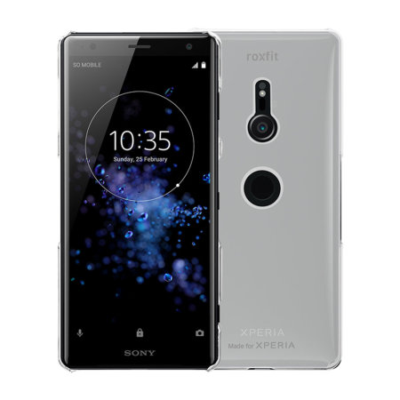 Roxfit Sony Xperia XZ3 Slim Hard Shell Case - Clear